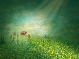 Dream in green by Dobina