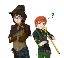 The Scarecrow and the Riddler? by KryptoniteDarkKnight