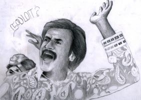 Superstar Rajni by Sylarius