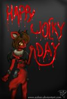 HAPPY daringan WOCKY DAY by Azleas