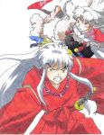 Inu Yasha and Sesshomaru by Dragon-Lynx