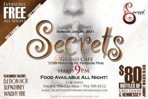 Secrets Flyer - 01.30.2011 by SmithByDesign