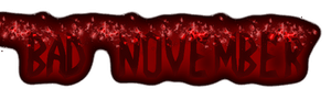 Bad November Designer text 2 by athyn100