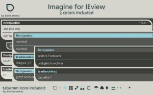 Imagine for IEview by Benijamino