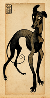 Greyhound by CanisAlbus