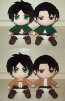 Shingeki no Kyojin/Attack on Titan plush by GIFT by animelover2day