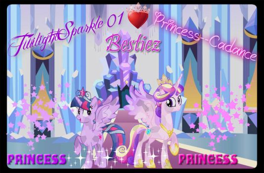 Me And Twilight Sparkle Ruling by Princess--Cadance