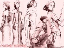 padme gowns by acrosstars22