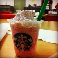 Strawberries and Cream Frappuccino Blended Creme by Dusk-teh-wolf