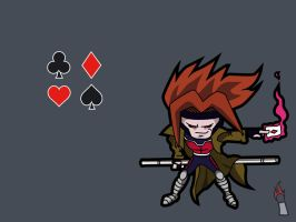 Gambit - Ace of diamonds by Italiux