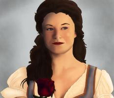 BELLE: It's no wonder that her name means beauty by BLOOD-and-LUST-87
