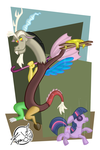 He's Dancing On Your Head by KYMSnowman