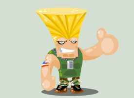 Guile by vancamelot