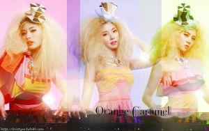 Orange Caramel - Strong Colors by Sweetkrystyna