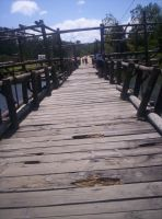 The old Wooden Bridge by Frannx