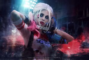 Harley Quinn - Suicide Squad Movie - DC Comics by FioreSofen