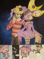 KidxCrona Halloween Entry by evangeline-17