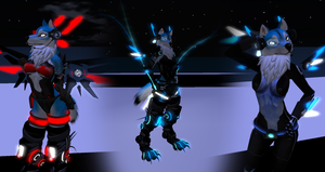 Second Life: Cyber Wolf by DragonKeeper333