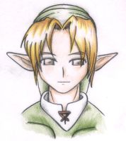link very very cute by Almiux19
