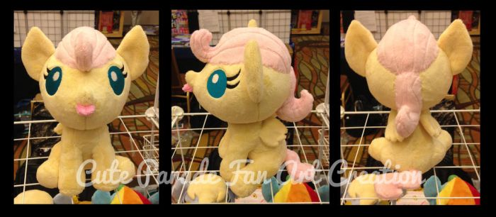 Baby Fluttershy Plush by CatNapCaps