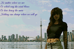Lights 'Siberia' lyrics wallpaper by Lunar-Pilgrim
