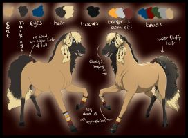 Ref Sheet - Judis by Rorelse