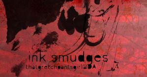 ink smudge brushes by thatgretchpantsgirl