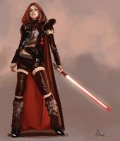 Lady Sith by AndrewDoris