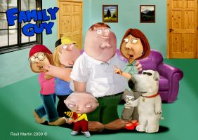 Family Guy real cartoon by Nestaman