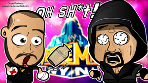 CM Punk x The Undertaker - WWE Chibi Wallpaper by kapaeme