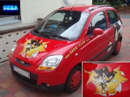 Shadow Car Airbrush by Sega-Club-Tikal