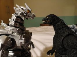 MonsterArts VS Chogokin 1 by GIGAN05