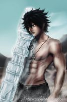 Gray Fullbuster - Have aN ice Day by HellPurestDevil