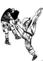 .::Naruto vs Sasuke::. by anneleen