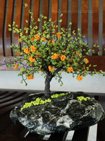 Orange tree II by beads-poet