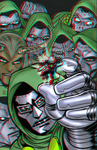 Ant-Man vs Doctor Doom in 3D Anaglyph by xmancyclops