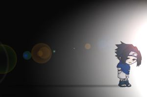 Chibi Sasuke wallpaper by wondawom