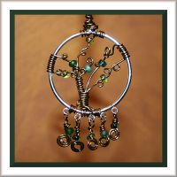 wire wrapped tree by Moon-Willow