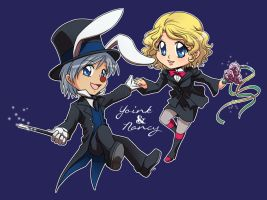 Chibicomm : Magic Act by Zue