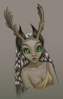 Deer Nymph by JeniRed