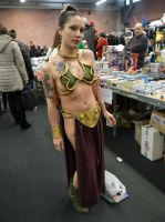 Princess Leia (Return of the Jedi) - Cos-Mo 2014 by Groucho91