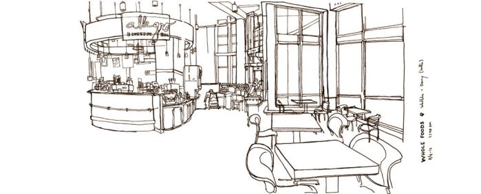 Quick-Sketch (Journal) Grocery Store by ziinyu