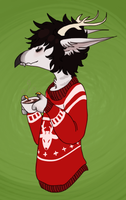 Never Too Late For Ugly Christmas Sweaters by Blank-Jackal