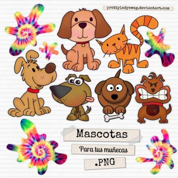 Mascotas PNG by PrettyLadySwag