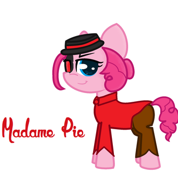 Madame Pie by Lucky-The-Pony