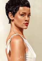 Rihanna by 4steex