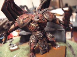 Khorne's Deamon prince front by Mandulis