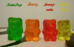 The Outsiders Gummy Bears by Reni-K-Hewer-DuLac