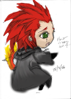 Axel by JinxedElf