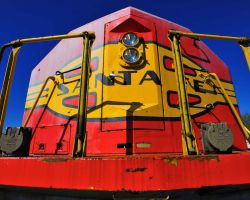 Santa Fe Locomotive by flatsix911